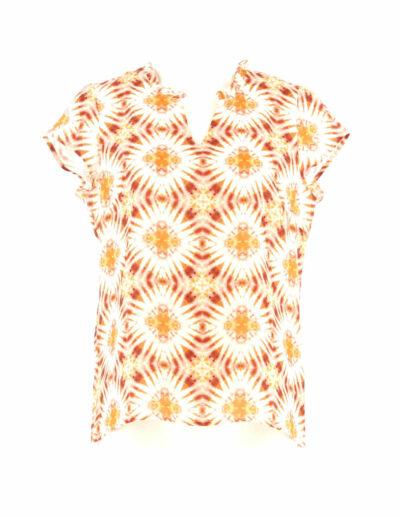 Linnen shirt met kapmouwtjes signe nature