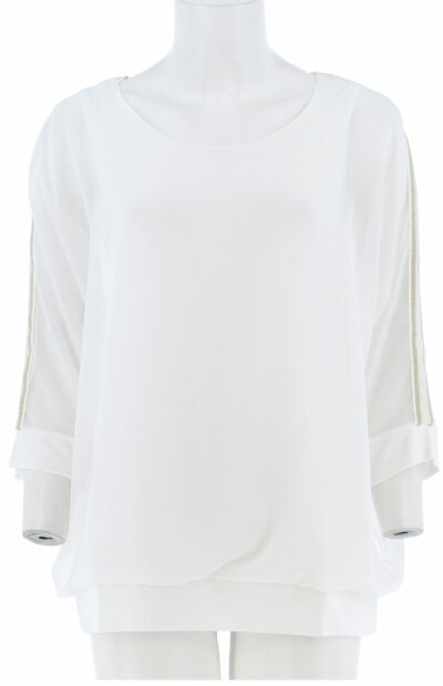Basic voille shirt signe nature