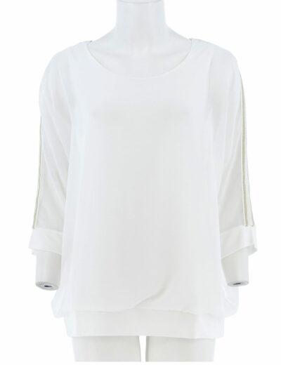 Basic voille shirt signe nature