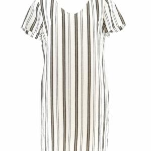 Vlot draagbaar kleed met horizontale streep