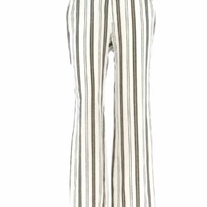Brede broek met horizontale streep