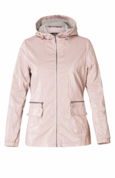 Roze zomerjas met kap Yest