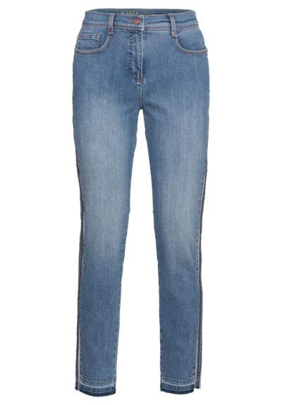 Tof afgewerkte jeansbroek Bianca