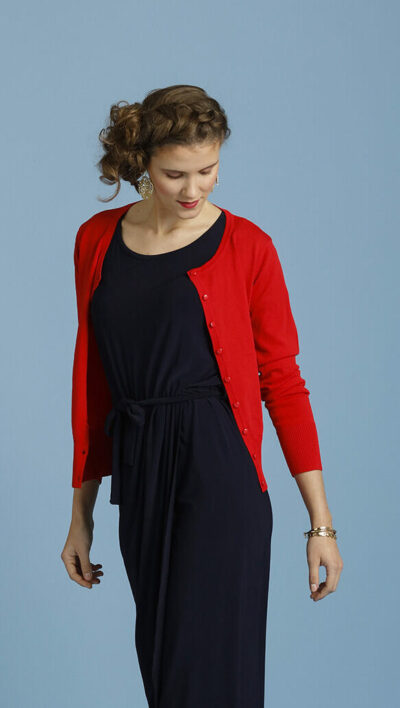 Basic rood golfje only-m