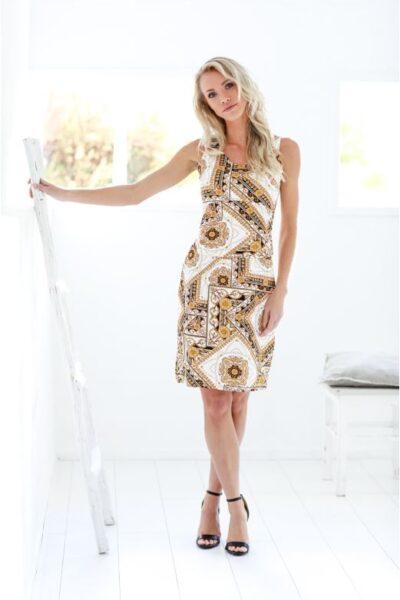 Luchtig zomerkleedje sophia perla