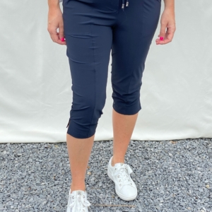 sportieve donkerblauwe broek only-m