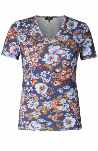 bloemenprint shirt yest