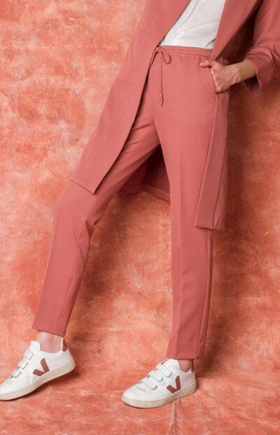 geklede roze broek four roses