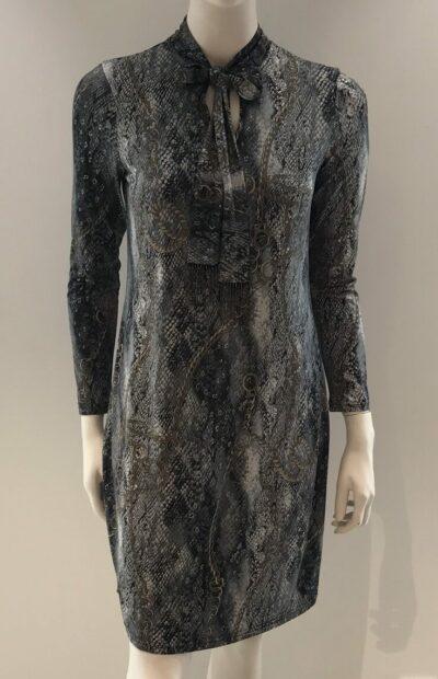 Kort kleedje met lange mouwen Batida