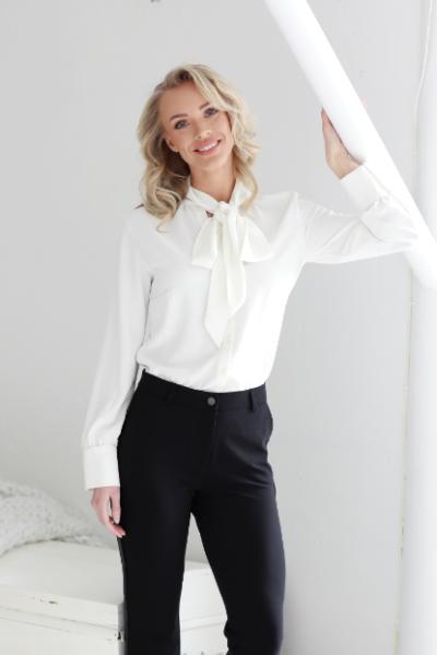 off-white shirt sophia perla