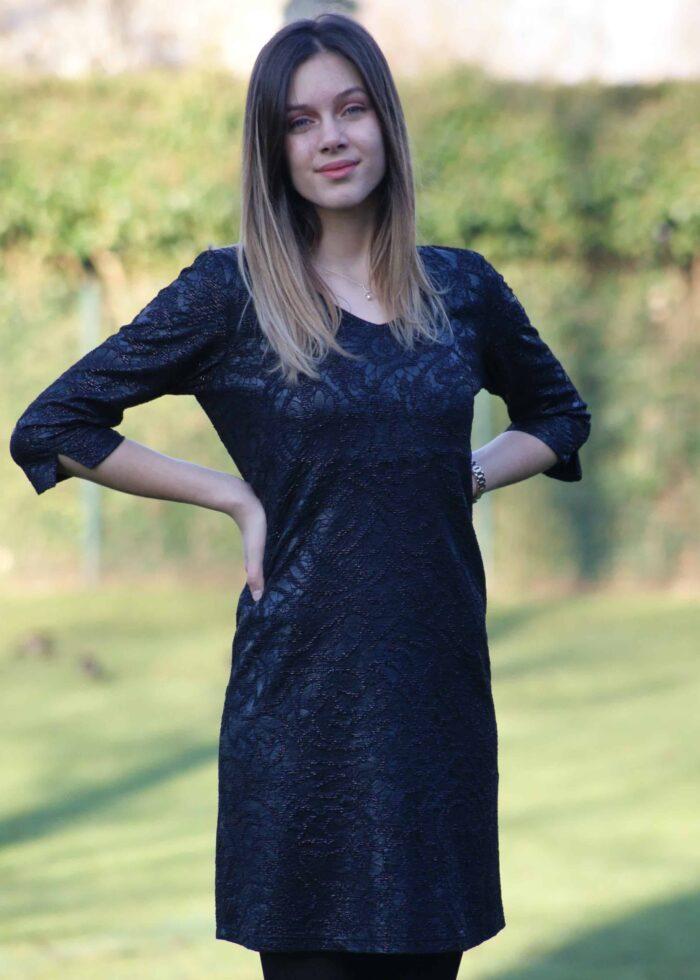 zwart kleedje diversa