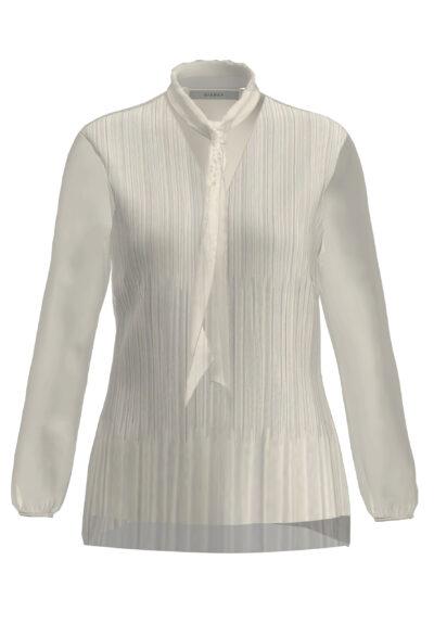 voille blouse bianca