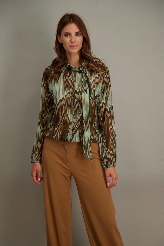 voille blouse signe nature